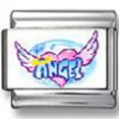 Angel Heart Wings Photo Italian Charm