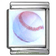 Baseball Italian Photo Charm 13mm