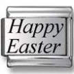 Happy Easter Laser Charm