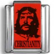 Jesus Christianity Photo Charm
