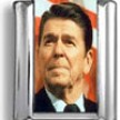 Ronald Reagan Photo Charm
