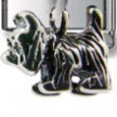 Shaggy Dog Dangle Silver Charm