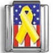 Support Our Troops Photo Charm