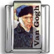 Van Gogh Self Portrait Photo Charm