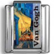 "Van Gogh's ""Cafe at Night"" Photo Charm"