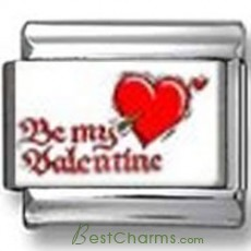 Be My Valentine Photo Charm