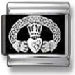 Claddagh Photo Charm