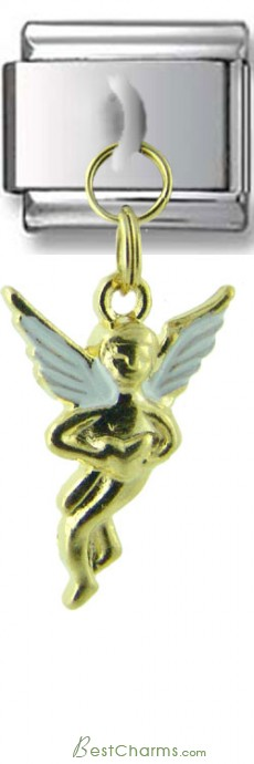 Dangle Gold Angel