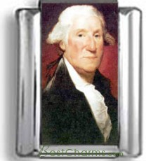 George Washington Photo Charm