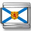Nova Scotia, Canada Flag Photo Charm