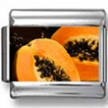 Pitted Peach Halves Photo Charm