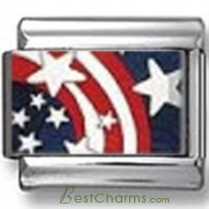 Stars and Stripes Photo Charm